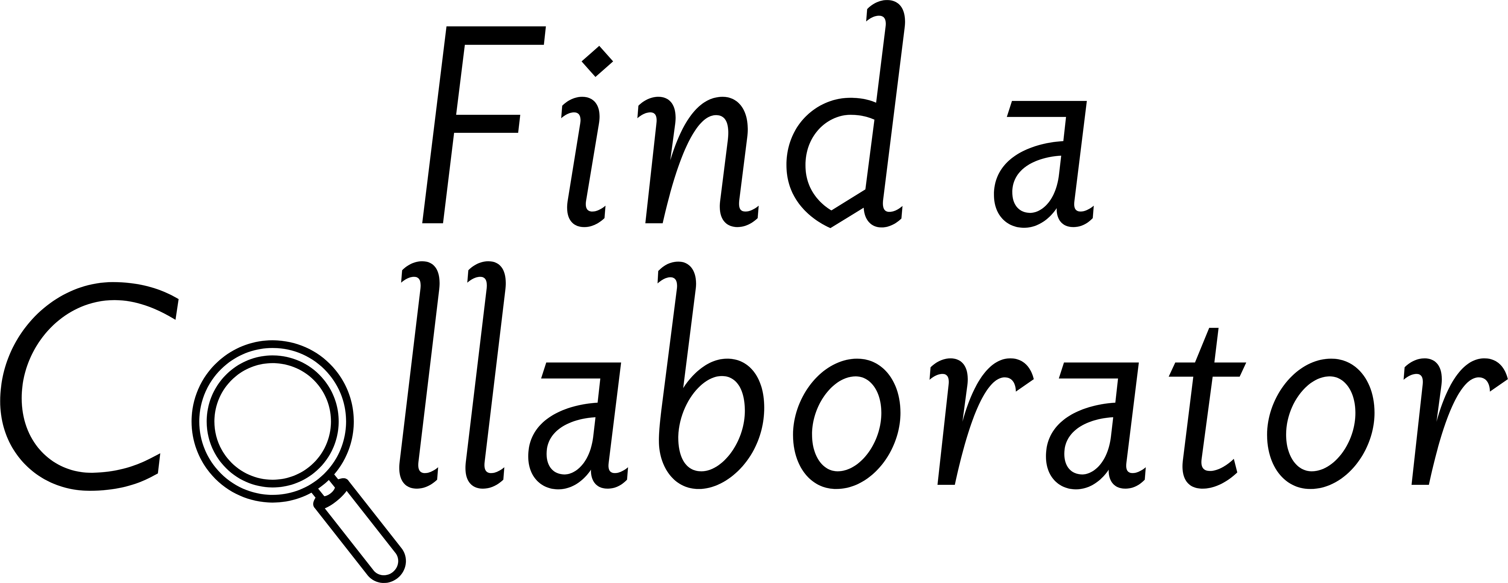 Find a Collaborator